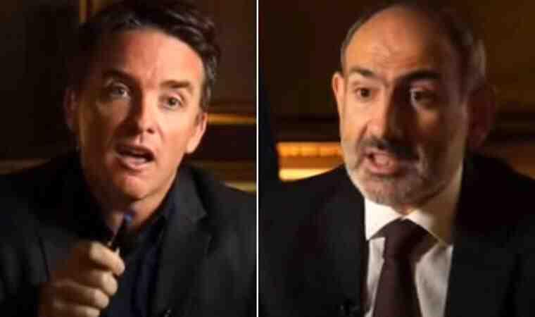 BBC sunucusunun 'işgalcisiniz' çıkışı karşısında Paşinyan ne yapacağını şaşırdı!