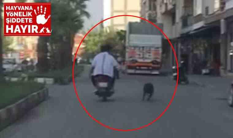 Manisa'da trafikte tepki çeken görüntüler