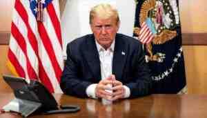 Trump, canlı yayınında seçmenlerin sorularını yanıtladı