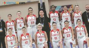 A Milli Kadın Basketbol Takımı, dünya sıralamasında 7. sırada
