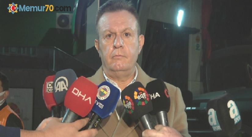 """Başkan Ali Çetin: """"İptal edilen penaltı bizim için çok net bir pozisyondu"""""""