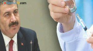 Korona aşısının detaylarını Bakan açıkladı
