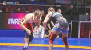 Milli güreşçi Yasemin Adar, Dünya Kupası'nda gümüş madalya kazandı