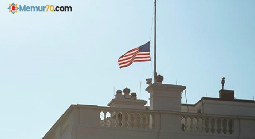 Beyaz Saray'da bayraklar neden yarıya indirildi?