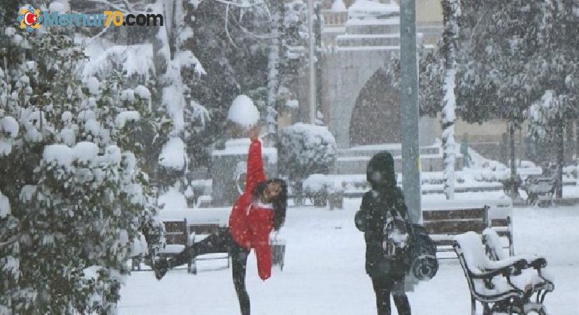 O ilimizde kar nedeniyle çalışanlara idari izin
