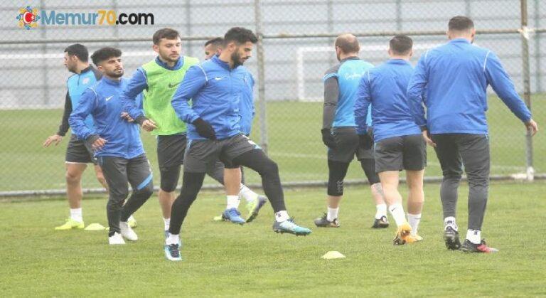 Çaykur Rizespor, Kayserispor maçı hazırlıklarına başladı
