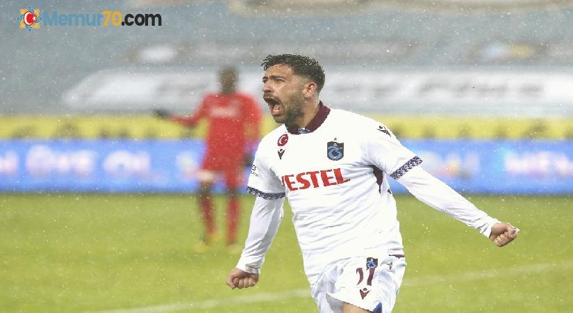 Süper Lig: Trabzonspor: 1 – Gaziantep FK: 0 (Maç sonucu)