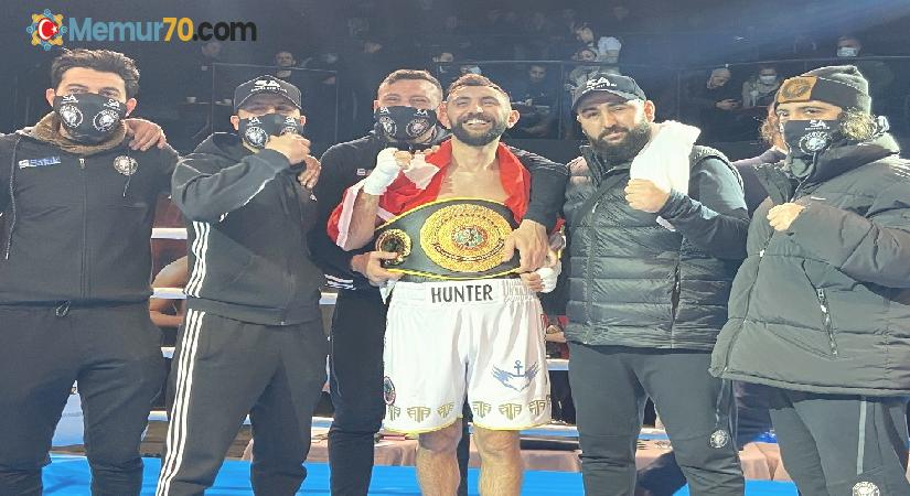 Ukrayna'da Türk boksörler ringe çıktı