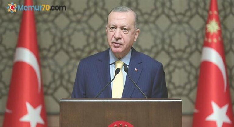 Cumhurbaşkanı Erdoğan, Dünya Kadınlar Günü'nü kutladı