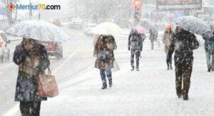 Meteorolojiden yoğun kar yağışı uyarısı – Haritalı