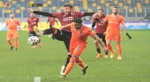 Süper Lig: Gençlerbirliği: 0 – M. Başakşehir: 1 (Maç sonucu)