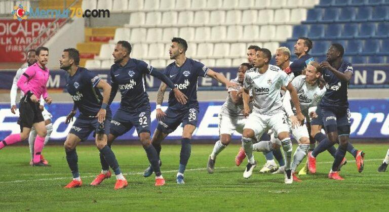 Beşiktaş 8 maç sonra kaybetti