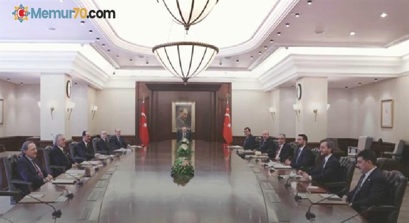 Erdoğan, CB Politika Kurulu Başkanvekillerini kabul etti
