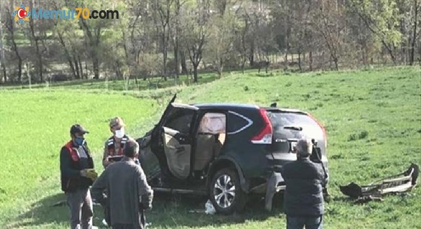 Oltu Kaymakamı ve Belediye Başkanı trafik kazasında yaralandı
