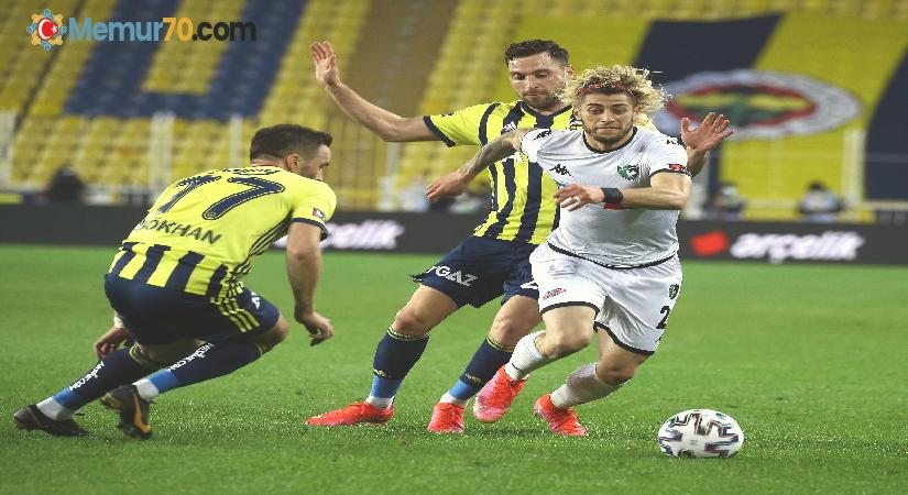 Süper Lig: Fenerbahçe: 1 – Denizlispor: 0 (Maç sonucu)