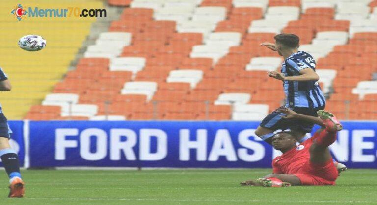 TFF 1. Lig: Adana Demirspor: 2 – Keciörengücü: 0