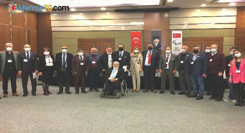 Türkiye Milli Paralimpik Komitesi Yönetim Kurulu güven tazeledi