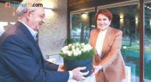 Akşener ile Kılıçdaroğlu  buluştu
