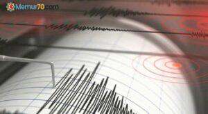 Bingöl'de 3.6 büyüklüğünde deprem meydana geldi