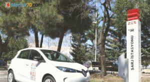 İstanbul Üniversitesi'nde elektrikli araç şarj istasyonları kuruldu