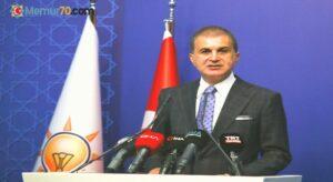 """AK Parti Sözcüsü Çelik: """"Hiçbir şey olmamış gibi yalana devam ediyorlar"""""""