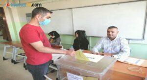 Aksaray'da muhtarları vefat eden 2 mahallede muhtarlık seçimi yapıldı