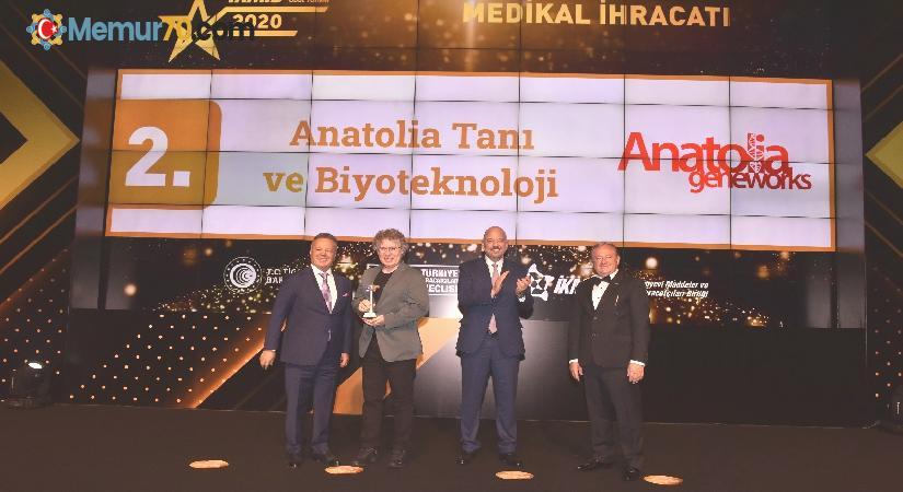 Anatolia Tanı'ya ihracat ödülü