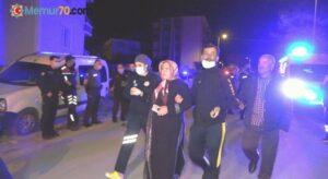 Apartmanda yangın paniği: 1'i bebek 4 kişi dumandan etkilendi
