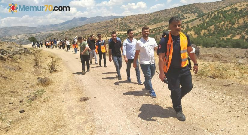 Diyarbakır'da AFAD gönüllülerine doğada eğitim