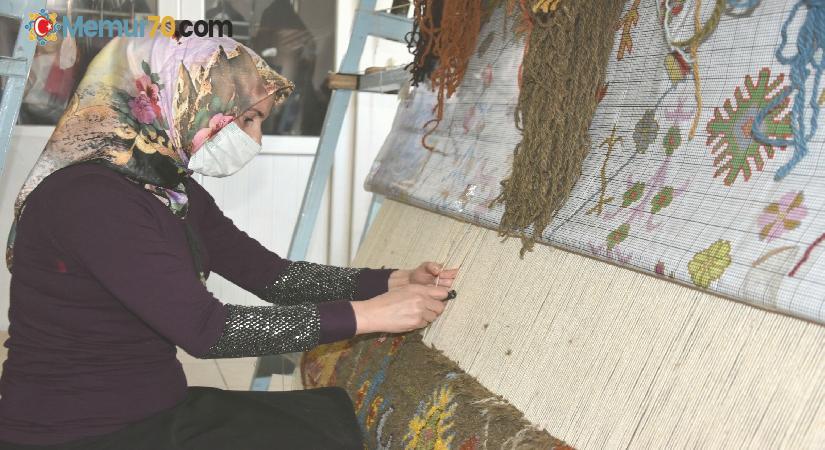 Hizanlı kadınlardan 150 yıl ömürlü halılar
