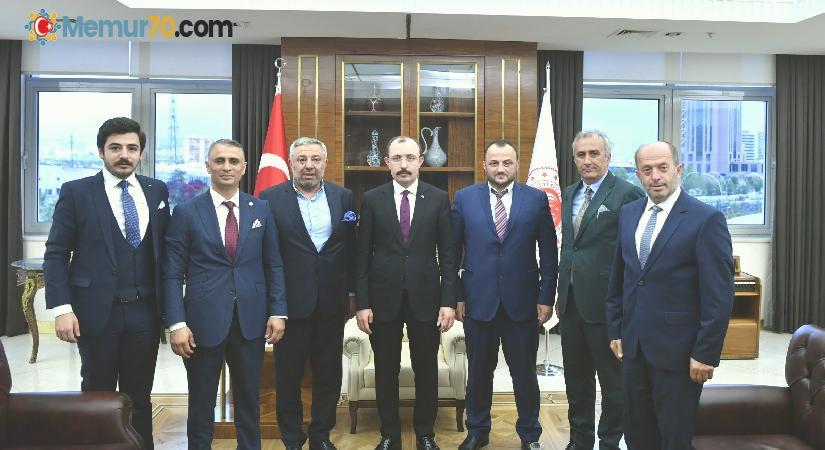 Trabzon Dernekleri Federasyonu'ndan Ankara ziyareti