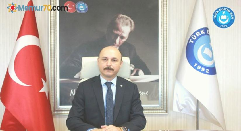 """Türk Eğitim-Sen Genel Başkanı Geylan: """"Meslektaşlarımızın alın teri olan birikimleri yine ve yalnız onlar için hizmete dönüşmeye devam edecek"""""""