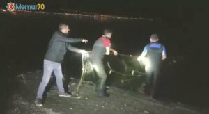 Van Gölü'nde 2 ton 350 kilogram inci kefali ele geçirildi