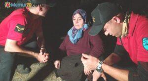 50 saat boyunca suyla beslendi, piknikçiler tarafından bulundu
