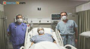 Toplardamarları tıkalı hastaya 3 aşamalı tedavi yöntemi