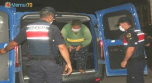 Baba katili kadın tutuklandı