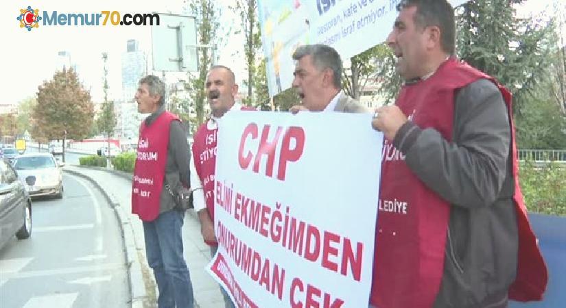 Belediyeden haksız şekilde çıkarılan 4 işçi Ankara'ya yürüyecek