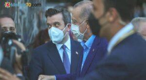 Erdoğan, New York'taki Yeni Türkevi Binası'nda incelemelerde bulundu
