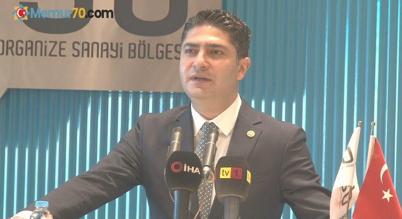 """MHP'li Özdemir: """"Sanayicilerin verdiği mücadele vatan mücadelesidir"""""""