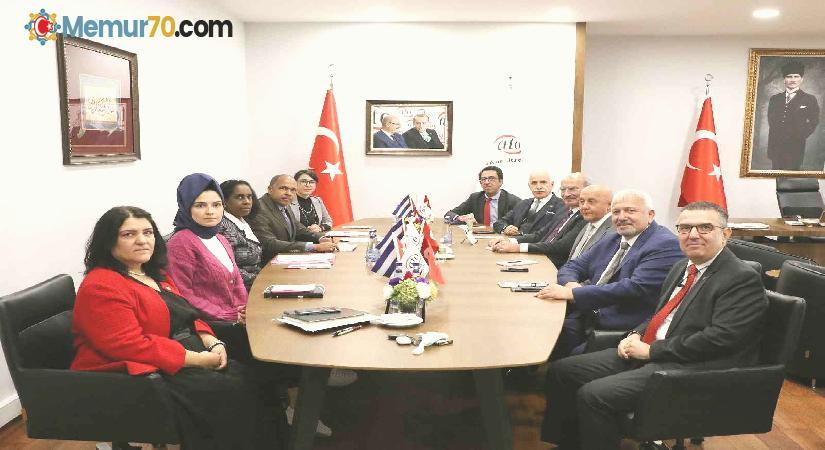 """ATO Başkan Baran: """"Türkiye-Küba ticaretini 100 milyon dolar düzeyine yükseltelim"""""""