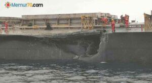 Çanakkale Gelibolu açıklarında gemi kazası