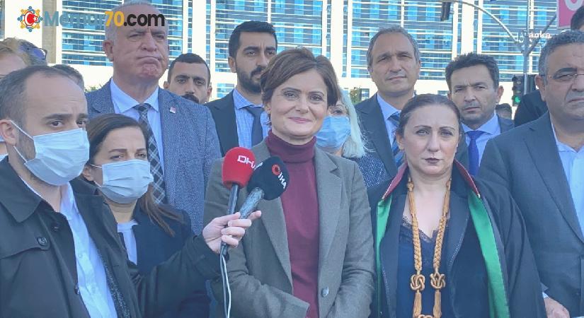 CHP İstanbul İl Başkanı Hakim karşısına çıktı