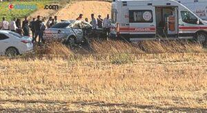 Gaziantep'te iki araç çarpıştı: 5 yaralı