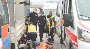 TEM'de çalışan Karayolları işçisine çarpıp kaçtı